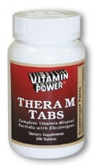 Thera-M Multi-Caps with Minerals (Size: 250 Tablets)