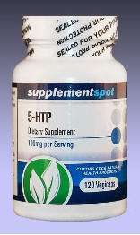 5-HTP (5-Hydroxy L-Tryptophan), 120 capsules, 100 mg