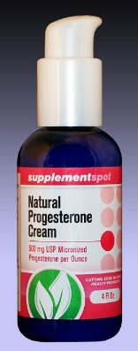 Natural Progesterone Cream, 4 fl oz